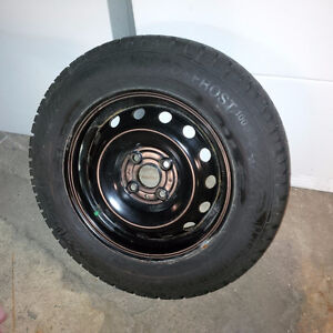 "Hyundai Accent Winter Tires on Steel Rims - 14"" NEW"