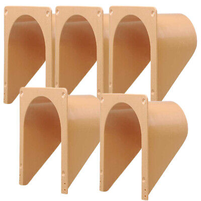 5Pcs Plastic Door Bird Pigeon Entrance Door Trap Window Door Curtain Bars
