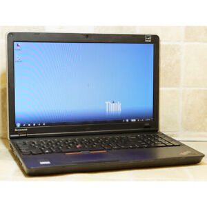 Lenovo E525 Laptop AMD Webcam 4GB RAM 320GB DVDRW WiFi HDMI 15.6