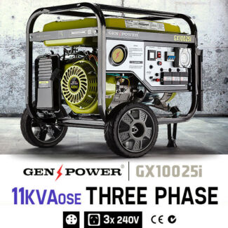 18hp Three-Phase Petrol 11kVA Generator GX100025i Seven Hills Blacktown Area Preview