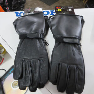 Cruiser Leather Motorcycle Gauntlet Gloves NEW Re-Gear Oshawa