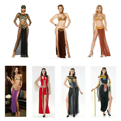 Greece Goddess Costume (Egypt Cleopatra Goddess Fancy Dress Costume Roman Greece Halloween Outfit)