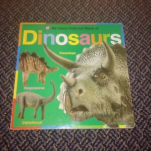 My Giant Fold-Out Book of Dinosaurs Board book