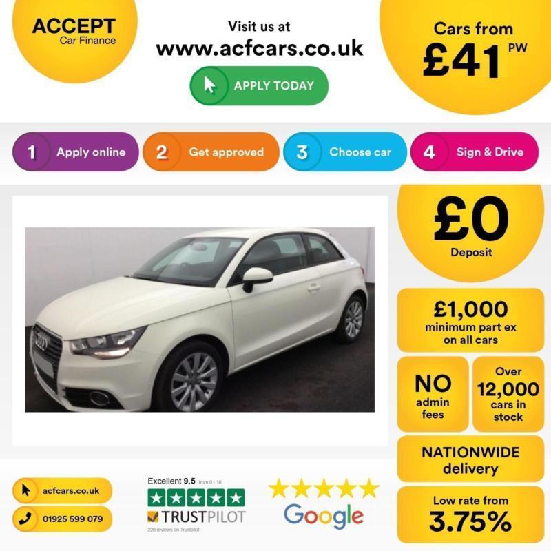 Audi A1 1.6TDI ( 105ps ) 2012MY Sport FROM £41 PER WEEK!