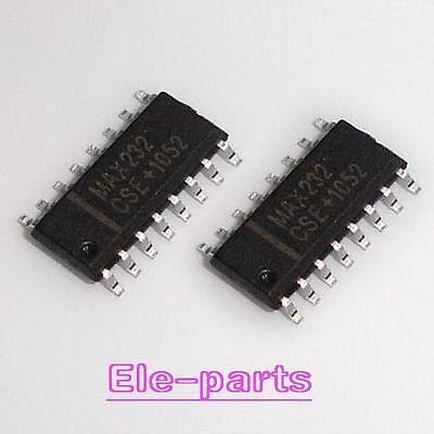 20 Pcs Max232cse Smd Max232 Sop-16 Rs-232 Driversreceivers