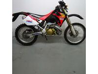 HONDA CRM250-AR. 3566 MILES. STAFFORD MOTORCYCLES LIMITED
