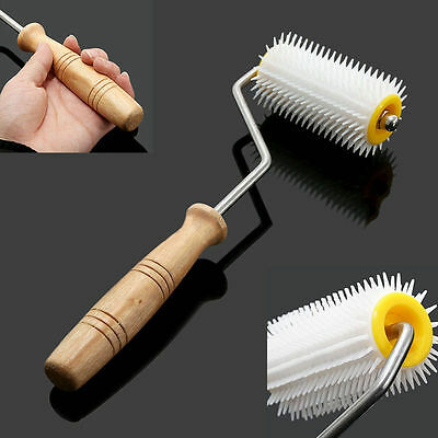 Uncapping Plastic Needle Roller Bee Comb Honey Extracting Beekeeping Equipment