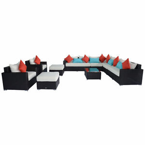 11pc Patio Rattan Set ON SALE - BRAND NEW AND TAX INCLUDED