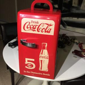 Koolatron Coca-Cola Retro Countertop Compact Refrigerator