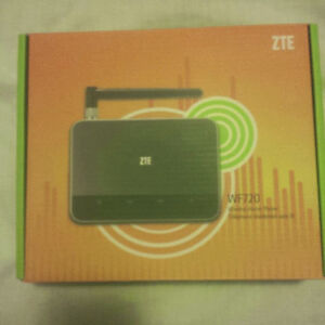 ZTE WF720 Wireless Home Phone Device with power adapter