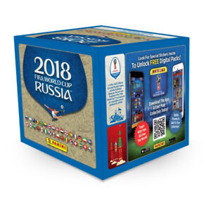 2018 Panini World Cup Soccer Sticker Packs Available @ Breakaway