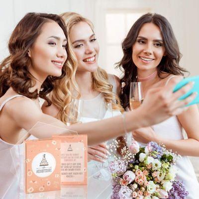 Hochzeitsselfies als Hochzeitsspiel Box mit kreativen und Lustigen Fotoaufgaben