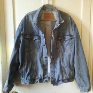 Oversized Vintage Levi's Denim Jacket