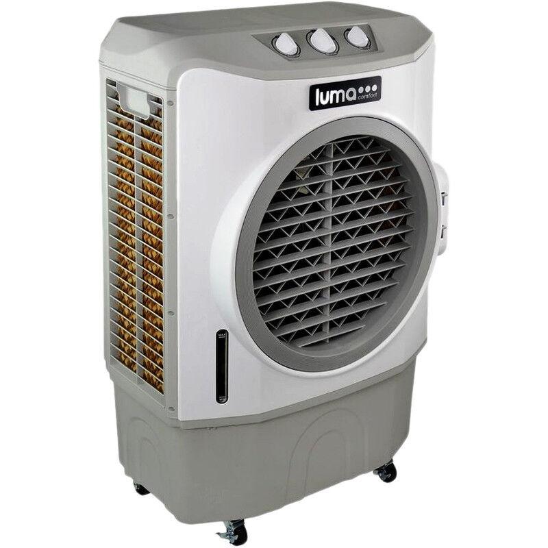 Luma Comfort 10.6-Gal. Evaporative Cooler White/Gray EC220W