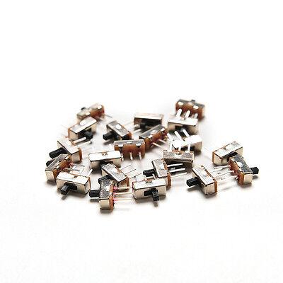 20x Ss12d00g3 2 Position Spdt 1p2t 3 Pin Pcb Panel Mini Vertical Slide Switchesn