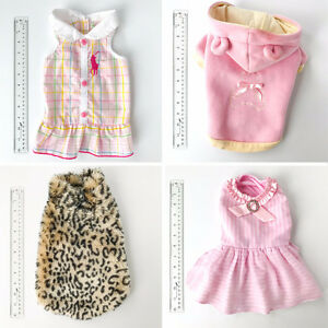 Small Dog Clothing - A variety of items all clean & like new
