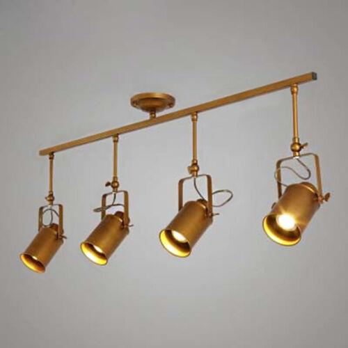 Industrial LED Track Lighting Spotlight Semi Flush Mount Cei