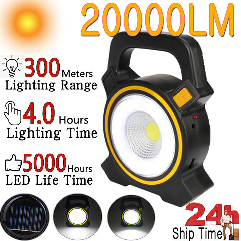 Solar Emergency Lamp Tent Light Lantern LED Portable Outdoor Camping Hiking