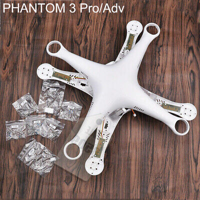 1PC Top Bottom Cover Upper Case Body Shell Spare Parts For DJI Phantom 3 Pro Adv