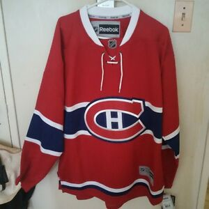 Montreal Canadiens official jersey