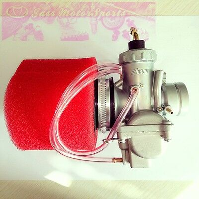 Mikuni VM24 28mm Carburetor air filter Yamaha DT175MX DT 175 MX Monoshock Motor
