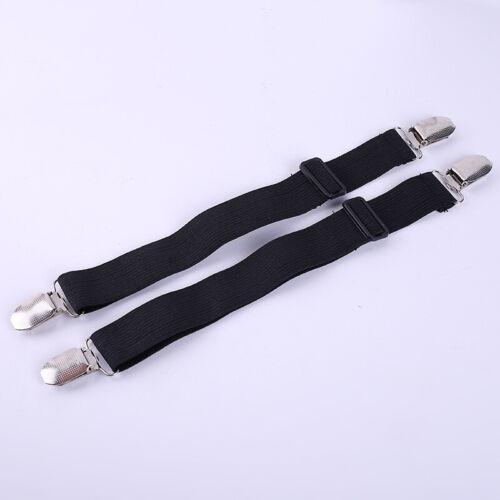 Pant Clips Motorcycle Biker Cyclist Leg Boot Straps Stirrup For Riding #E99