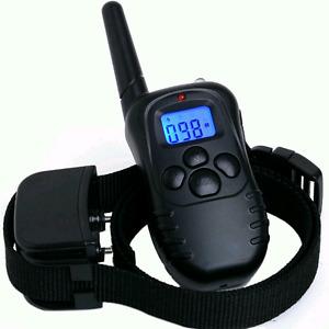 E-collar training bark collar remote 100 levels!