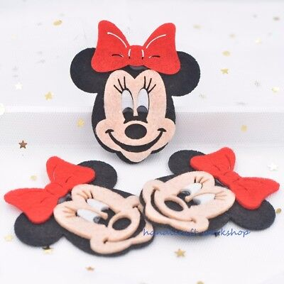 10Pcs Homemade Mouse Appliques for DIY Crafts Mickey Patches/Kindergarten Decor - Kindergarten Crafts