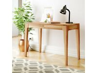 Solid Oak desk - 110x55x76