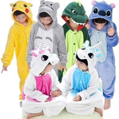 Pikachu Onesi1 Kigurumi Kids Adult Animal Pajamas Cosplay Costume Sleepwears - Kids Pikachu Costume