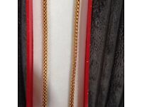 Gold chain 22ct