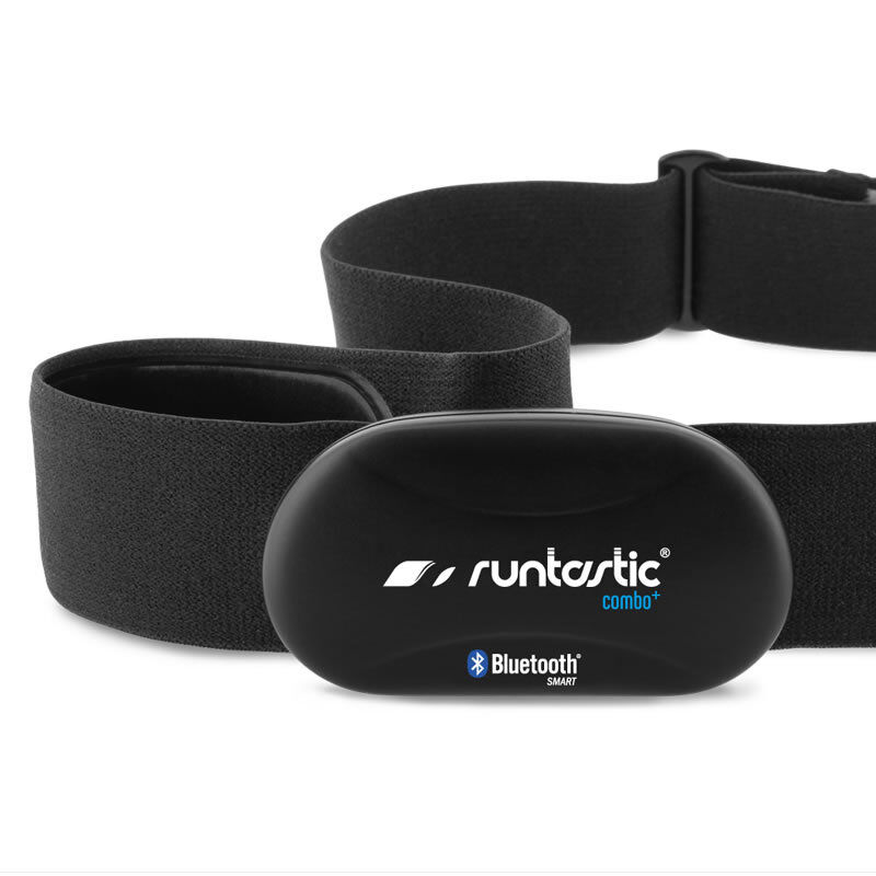 Runtastic Bluetooth Smart Combo Brustgurt - IPhone 4S / 5 / 5C / 5S Pulsmesser