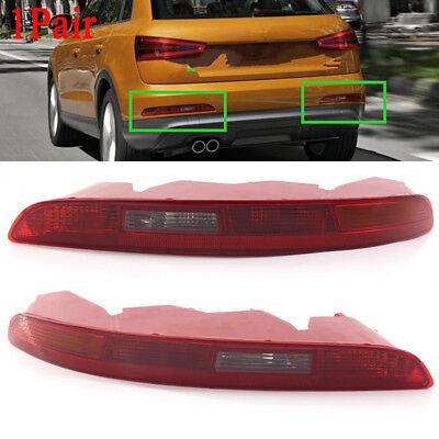 FOR AUDI Q3 2011-14 REAR LOWER BUMPER TAIL LIGHT PASSENGER+DRIVER SIDE N/S O/S