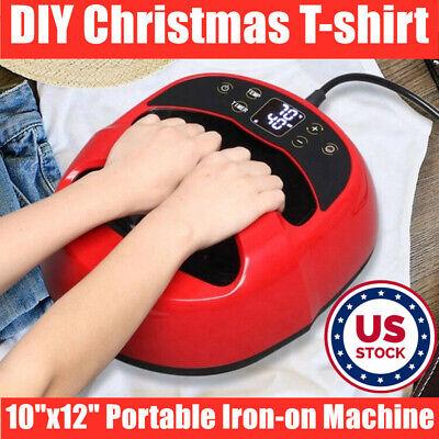 Portable Iron T-shirt Heat Press Transfer Printing Machine For Diy Xmas T-shirts