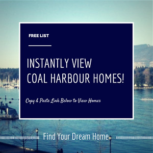 Instantly View Lovely Coal Harbour Homes