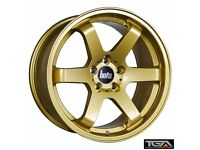 "18"" Bola B1 Gold for VW Audi Seat Etc"