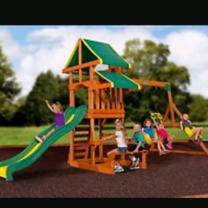 ISO play structure/swingset
