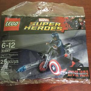 30447 Captain America's Motorcycle Polybag LEGO america