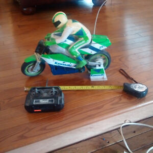 RC (not a real bike); awesome collection if you have a Ninja