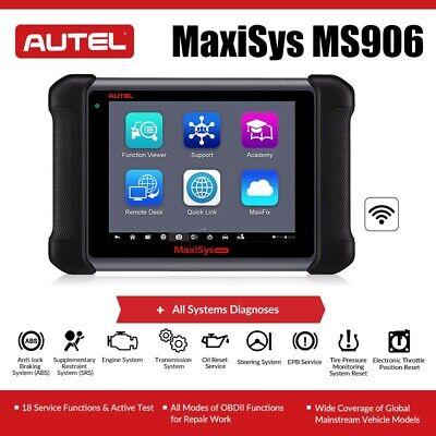 2020 Autel Maxisys MS906 OBD2 Car Scanner Diagnostic Tool ECU Coding MK908 MS908