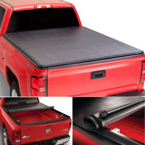 NEW Roll Up Style Tonneau Cover for 2007-2013 Toyota Tundra