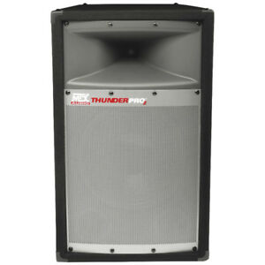 MTX Audio ThunderPro2 2-Way Full-Range Cabinet Loudspeaker - TP1