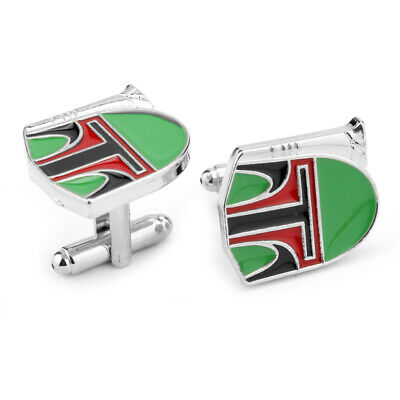 Cufflinks Novelty * Movies, Games, TV * Star Wars Boba Fett