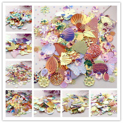 5g /20g DIY Flash Mixed Color/Shapes Sequins for Dress Stage Decor Accessories