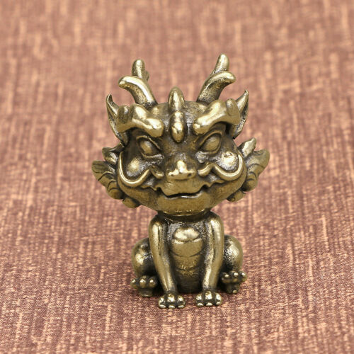 "Brass ""PiXiu"" Figurine Small PiXiu Statue House Decoration Animal Figurines"