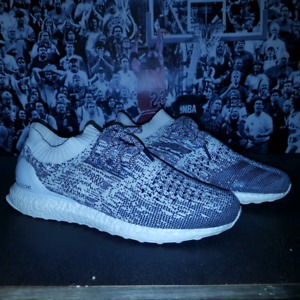 Adidas ultra boost uncaged white grey color way sz 12 $180.00