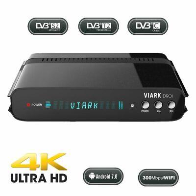 Viark DROI 4K 2160p H.265 HEVC Digitaler Combo Android 7.0 DVB-S2 -...