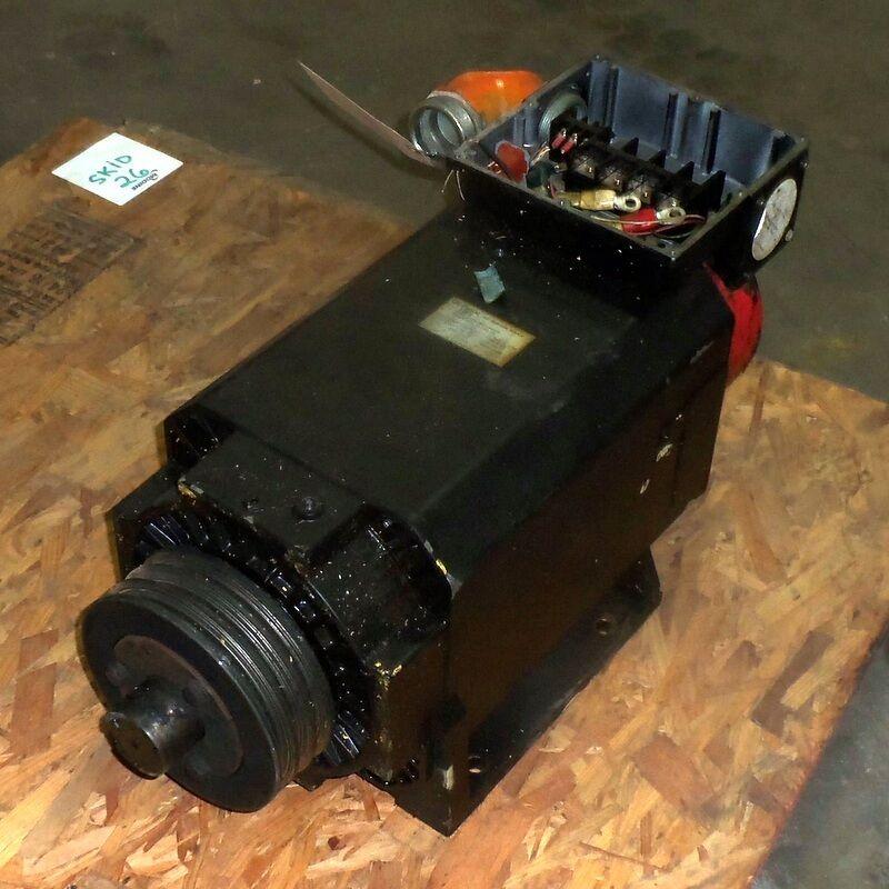 GE FANUC MODEL 18S 1500/4500RPM 18.5/22kW AC SPINDLE MOTOR A06B-0758-B201#3000