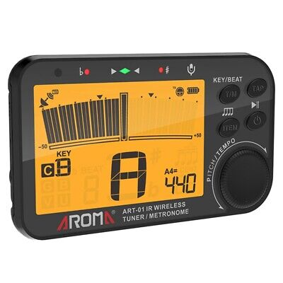 AROMA ART-01 Infrared Wireless Tuner Metronome Screen Tuning With Battery - $32.95