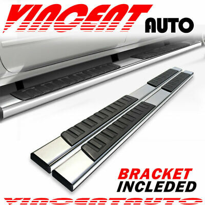 """For 2009-2020 Dodge Ram 1500-3500 Crew Cab 6"""" Running Board Bar Side Step S/S H6"""